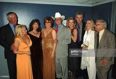 Steve Kanaly, Charlene Tilton, Mary Crosby, Larry Hagman, Sheree J. Wilson, Patrick Duffy, Susan Howard and Ken Kercheval of 'Dallas'
