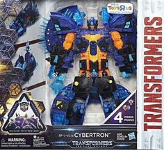 Transformers: The Last Knight - In-Package Images Of ToysRUs Cybertron, Autobots Unite Flip & Change Bumblebee & Hot Rod