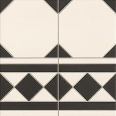 Oxford Nero Border (cenefa) per tile (inc VAT) per linear m Tiled Hallway, Hallway Flooring, Ceramic Floor Tiles, Wall And Floor Tiles, Victorian Tiles, Outdoor Tiles, Black And White Tiles, Black White, Style Tile