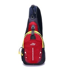 Sports Running Waterproof Nylon Cross Body Shoulder Belt Chest Bag 6 Colors (Free Shipping)