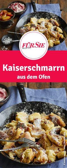 Leckeres Rezept für Kaiserschmarrn: So bereitet ihr die beliebte Süßspeise aus Österreich ganz einfach im Ofen zu.