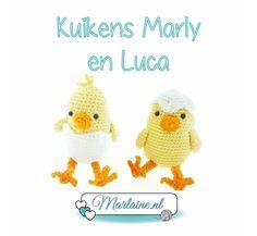 Haakpatroon Kuikens Marly en Luca PDF