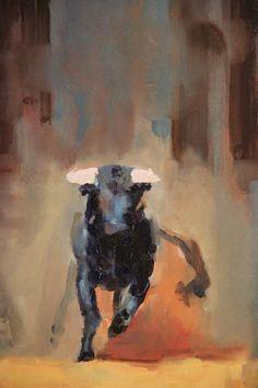 "Saatchi Online Artist: Fanny Nushka Moreaux; Oil 2013 Painting ""Nîmes, 2013"""