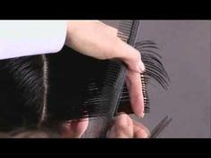 Passo a passo corte de cabelo curtinho - YouTube