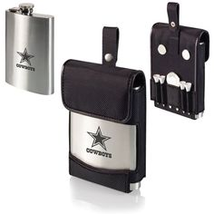 Why not take your favorite drink with you on your next golf trip and show your team pride with this Dallas Cowboys Stainless Steel Golf Flask - Laser Engraved b Dallas Cowboys Gifts, Nfl Merchandise, Picnic Time, Thoughtful Gifts, Laser Engraving, Gifts For Dad, Flask, Special Gifts, Digital Prints