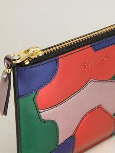 Women - Comme Des Garçons Wallet Patchwork Zipped Purse - WOK STORE