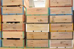古賀充 wood box