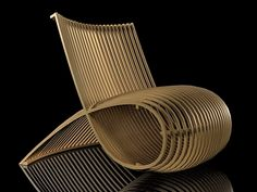 Cappellini Wooden Chair MN30 | Marc Newson