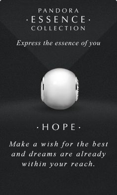 Express the essence of you. #PANDORAessencecollection #PANDORAcharm #Hope