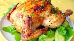 دجاج محمّر في الفرن
