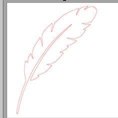 fichier sst ** plume ** pour silhouette studio cameo - scrapbooking carterie silhouette cameo tuto astuce scrap image tube numérique creatio...