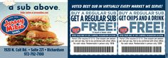 JERSEY MIKES SUBS DALLAS COUPON