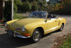 There it is .... Yellow,convertible KG!