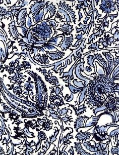 fabric gallery full of pattern ideas Textiles, Textile Patterns, Textile Design, Textile Prints, Pretty Patterns, Beautiful Patterns, Blue And White Fabric, Chef D Oeuvre, Pattern Design