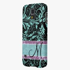 Awesome! This Elegant teal blue and black damask with monogram galaxy nexus cases is completely customizable and ready to be personalized or purchased as is. It's a perfect gift for you or your friends.