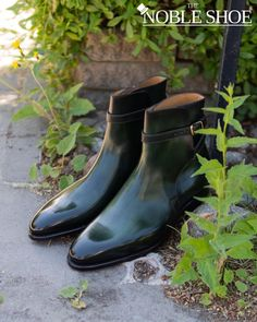 🌳Forest Green is the way to go. Get your own Sintra Patina Jodhpurs through the Carlos Santos Patina Service for The Noble Shoe. . A Handpainted marvel available in 19 colors and Expertly Goodyear Welted in Portugal 🇵🇹 on the most elegant 401 Last. . Customize your own shoe through our Patina Service by clicking the link in the photo or visiting the webstore! Price for Jodhpurs is 309$ and includes Free Shipping! Are you an influencer and want Free stuff? The Price for you is 700$ 🤣… Customize Your Own Shoes, Formal Shoes For Men, Goodyear Welt, Jodhpur, To Go, Dress Shoes, Free Stuff, Elegant, Boots