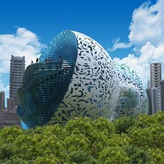 made of steel and concrete, the structure has an external shell with a fractal pattern of an aluminium alloy or other light material with a polymer composition that can be 3D printed. How to build your OWN business selling OTHER peoples products!