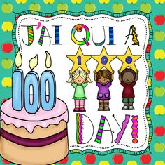 This file includes a French 100th Day of School activity that reinforces vocabulary using 28 different school related words. For instructions on how to play J'ai, Qui a, click the picture or link below.