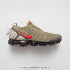 6cac37b35e Mens Nike Air Vapormax Moc 2 Foot Bandage Steam Air Max Jogging Shoes Olive  Green Red Green