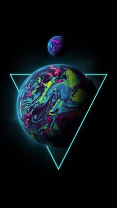 Triangle Planet wallpaper by Geoglyser - 90 - Free on ZEDGE™