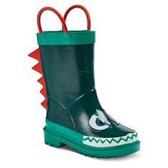 Toddler Boys' Hugh Rain Boots - Green