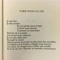 Quotes Life Inspirational Deep 68 Ideas For 2019 Poetry Quotes, Words Quotes, Sayings, Pretty Words, Beautiful Words, Victor Hugo, Eye Quotes, French Quotes, French Poems