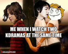 I'm a two-timing Kdrama lover- no shame, no shame. Can't throw me off this life!