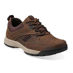 Clarks' Wavescree Edge is a waterproof, casual shoe for men. Great for work or recreation, they're available now at Lucky Feet Shoes!