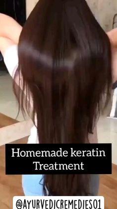 Homemade Hair Treatments, Diy Hair Treatment, Hair Tips Video, Hair Videos, Hair Growing Tips, Hair Mask For Growth, Hair Up Styles, Diy Hair Mask, Healthy Hair Tips