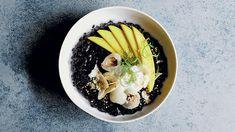 Black rice breakfast with tropical fruit recipe   Healthy breakfast recipes   SBS Food