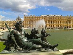 The Water Parterre at Versailles. (Photo: WendyJames ~ July 2013)