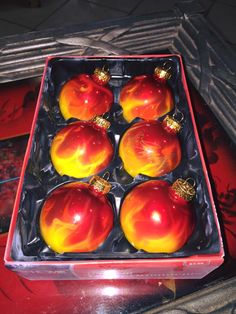 True Fire™ Christmas Balls - Painted by Mike Lavallee of Killer Paint Airbrush Studio - www.killerpaint.com
