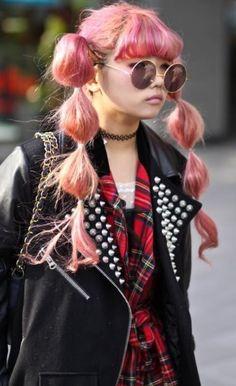 Modern 70's punk fashion