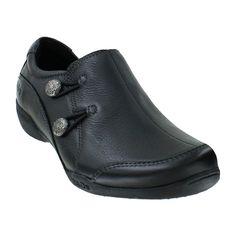 Plantar Fasciitis Shoes | Taos Encore Black Leather Women's Shoe for Plantar…