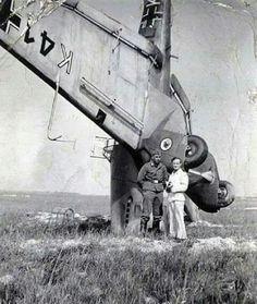 Damaged Ju-87A