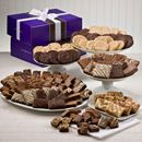 The Extravagant Delights is the ultimate Fairytale Brownies sampler. Includes brownies, Sprites, Magic Morsels, cookies and buttery bars packed in two beautiful purple boxes. $259.95