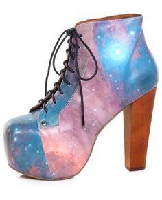 These shoes look ugly, yet magical.