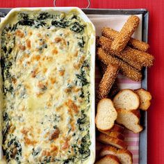 Hot Spinach Dip by MS