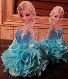 Elsa Frozen centerpiece DIY KIT by LizsPartyDesigns on Etsy