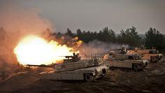 EE.UU. envía tanques y blindados a Europa en respuesta a Rusia