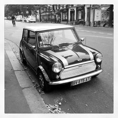 Vintage Mini Cooper.