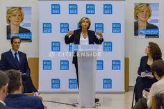 Paris : Valérie Pécresse présente l'intégralité de son projet pour l'Ile-de-France - Politique - via Citizenside France. Copyright : Christophe BONNET - Agence73Bis