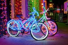 Tube Light Up Bike