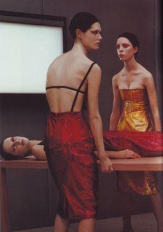 'New season' (Vogue Italia February 1999), shot by Steven Klein.