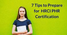 7 Tips to Prepare for HRCI PHR Certification | Playbuzz