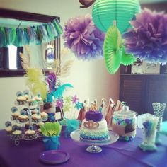 Peacock Birthday Party Decorations | Peacock Party.