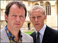 Inspector Lewis - DI Robbie Lewis (played by Kevin Whately) and DS James Hathaway (played by Laurence Fox), at Oxford University based on the crime novels by Colin Dexter.