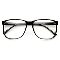 Large Retro Nerd Hipster Fashion Clear Lens Glasses 9339 ($13) ❤ liked on Polyvore featuring accessories, eyewear, eyeglasses, glasses, sunglasses, other, clear eyeglasses, hipster glasses, wayfarer eyeglasses and hipster eyeglasses