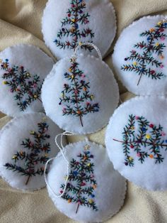 In this DIY tutorial, we will show you how to make Christmas decorations for your home. The video consists of 23 Christmas craft ideas. Diy Christmas Gifts For Family, Felt Christmas Decorations, Felt Christmas Ornaments, Handmade Christmas Gifts, Christmas Crafts, Christmas Tree, Holiday Tree, Yarn Crafts, Felt Crafts