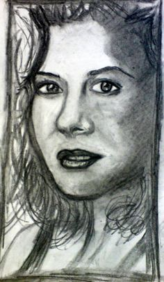 Peyton , another charcoal sketch from 2009